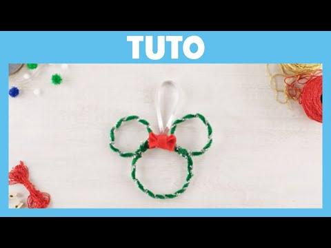 Les Aventures de Mickey et ses amis - Tuto de Noël : La décoration d'arbre Minnie