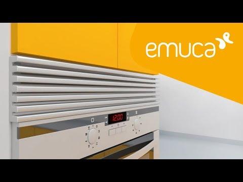 Cómo instalar una rejilla horno en tu cocina - Emuca