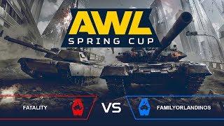AWL: Spring Cup. Финал.