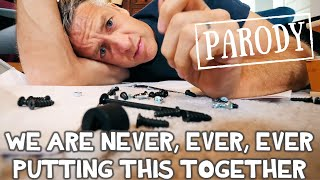 We Are Never Ever Putting This Together // Taylor Swift Parody feat. What's Inside