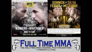 💣 UFC 213 Absolutely Bombs, Barely Beats Bellator in PPV Buys 💣