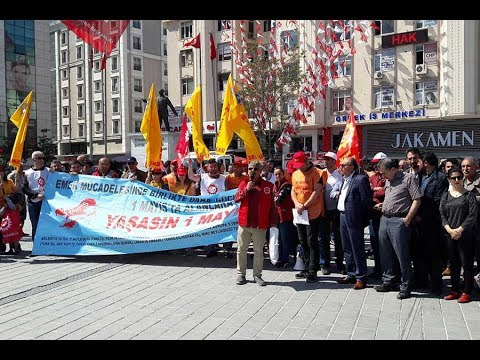 Esenyurt'ta ortak ve yerel 1 Mayıs kutlaması