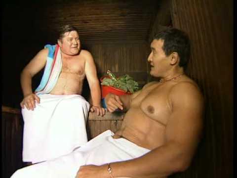 Новый русский в бане