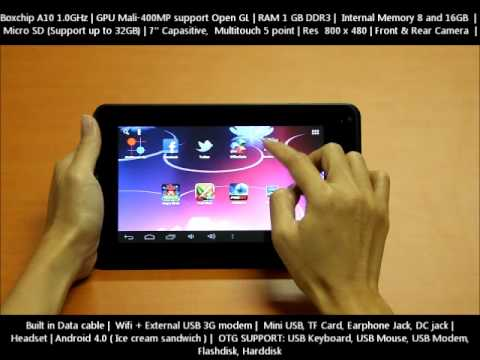 Tablet Android Slim