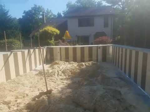 This homeowner in Lakewood, NJ hired YES Contractors to install her brand new Wilkes Pool