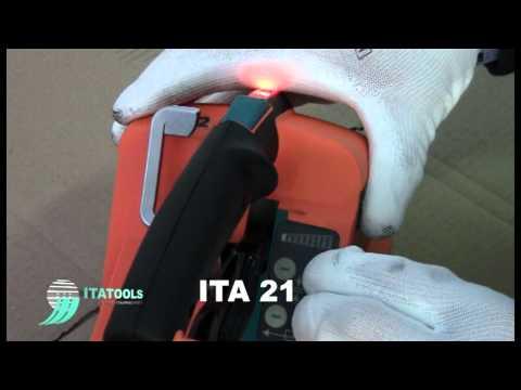 ITA ITA21 Battery Powered Strapping Machine
