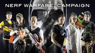 Nerf Warfare: Campaign | Full Movie! (Nerf First Person Shooter Film)
