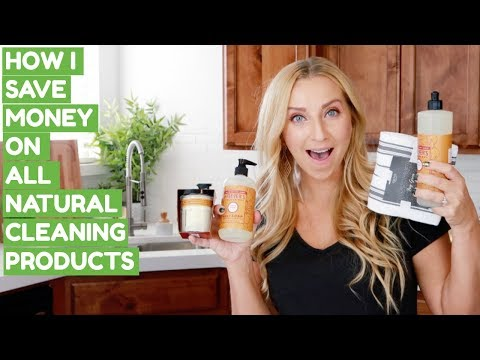 How I Save Money on ALL NATURAL Cleaning Products + an EXCLUSIVE DEAL! (Feat. Grove Collaborative)