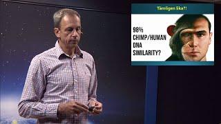 Thumbnail for video: Människans ursprung 2/3: Den genetiska evidensen - Biblisk kreationism avsnitt 14 - Göran Schmidt