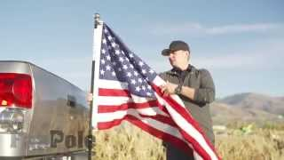 How To Put A Flag Pole On Your Truck (The Best Way) | FanPole