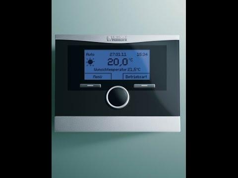 4 clases de termostatos para calderas