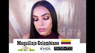 Copper Halo Eye: Maquillaje para la noche y fiestas con productos colombianos ¦ Sophia Morillo