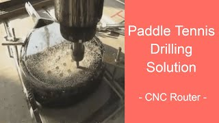 Beach Paddle Drilling With CNC Router Machine