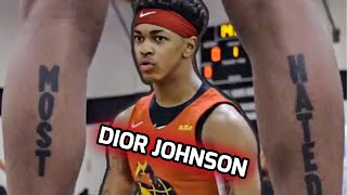 MOST HATED Dior Johnson Makes ZERO Friends On The Court! ❌Jaygup's New Teammate Wants All The SMOKE!