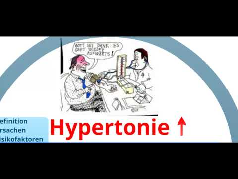 Hypertonie-Behandlung für Psoriasis