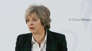 British Prime Minister outlines Brexit plan