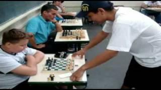 Simultânea de xadrez Ernesto Monte