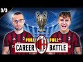 1 VS 1 - FULL CAREER BATTLE CHALLENGE con il MILAN! EPISODIO 3/3 | FIFA 19 CARRIERA ALLENATORE MILAN