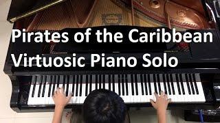 Pianominion Virtuosic Piano Solo - Pirates Of The Caribbean Arr By Jarrod Radnich (Piano Practice)