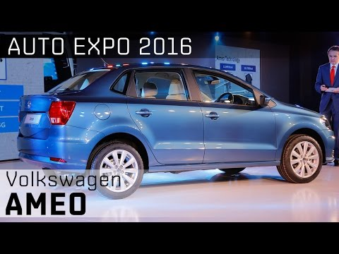 Volkswagen Ameo :: 2016 Auto Expo WalkAround Video :: ZigWheels India