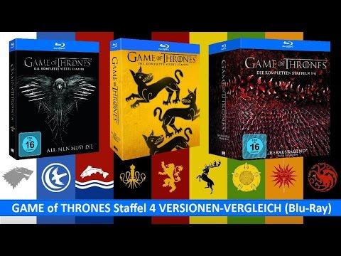 GAME of THRONES Staffel 4 VERSIONEN VERGLEICH (Blu-Ray) + OUTTAKES