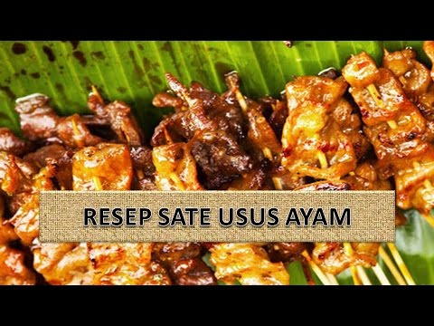 Video RESEP SATE USUS AYAM