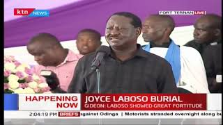 RAILA: Joyce Laboso is laid to rest as a Kenyan heroine