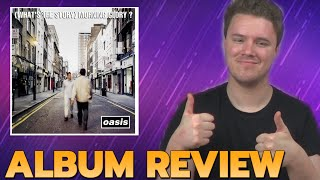"Oasis ""What's The Story Morning Glory"" A Truly Beloved British Album 