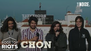 Chon Talk Collaborations, Super Smash Bros and Perform on Hollywood Rooftop | Rooftop Riots