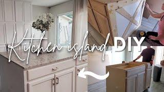 DIY Kitchen Island   Affordable Kitchen Island Part One