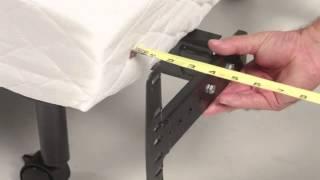 Leggett & Platt Prodigy Adjustable Base Headboard Bracket Installation