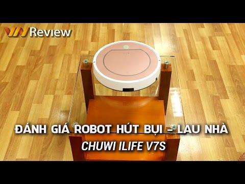 Đánh giá Robot hút bụi, lau nhà tự động CHUWI ILife V7S