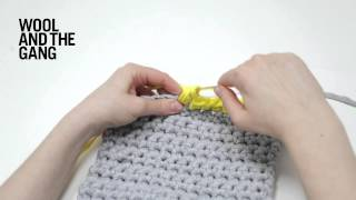 How to join a new ball of yarn in crochet