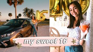 16TH BIRTHDAY VLOG: Getting My License, Driving, Bday Party