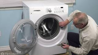 Frigidaire Washer Repair - How to Replace the Door Lock and Switch Assembly (Frigidaire # 131763256)