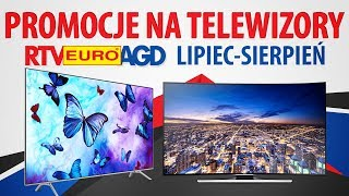 PROMOCJE na Telewizory w RTV Euro AGD