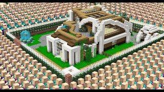 ASWDFZXCVB Vs WORLD'S SAFEST MINECRAFT HOUSE!