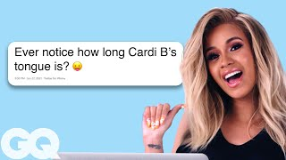 Cardi B Goes Undercover on Reddit, Twitter and YouTube | Actually Me | GQ