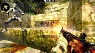CS:GO Zombie Escape mod - TESV SKYRIM BOSS FIGHT MOVES