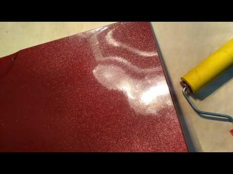 ремонт пленочного фасада кухонной дверцы