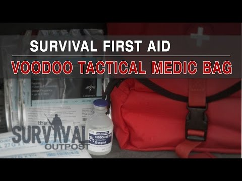 Survival First Aid – Voodoo Tactical Medic Bag / Major Trauma