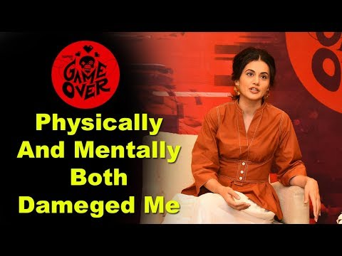 Taapsee Interview With Press About Game Over