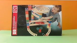 Hape Toys Xcellerator Quadrilla Marble Run Review