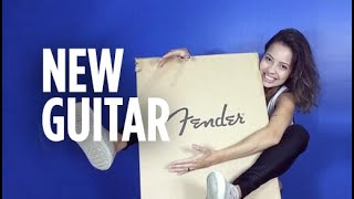 Guitarra nova ♥ Thanks, Fender!