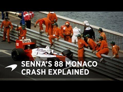 Ayrton Senna's 1988 Monaco GP Crash Conspiracies