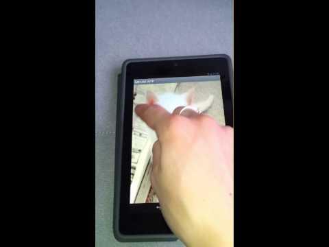Video of Cat Meow App