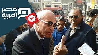 preview picture of video 'مصر العربية |  نائب المحافظ لأهالى المطرية: انتو السبب فى انهيار العقار'