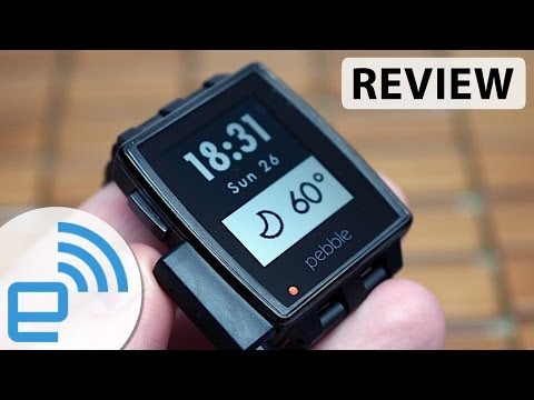 , title : 'Pebble Steel smartwatch review | Engadget'