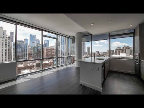 A River North two-bedroom #1511 at the amenity-rich SixForty apartments