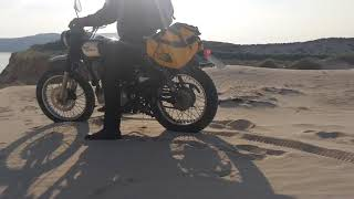 Two members' motorcycle trip around the North Coast 500